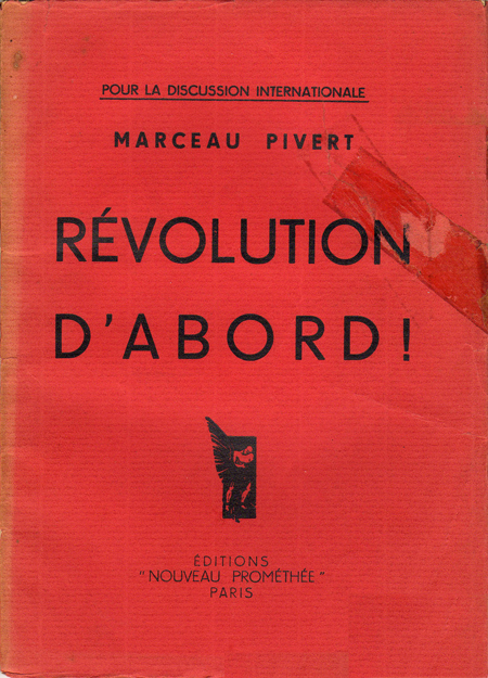 Brochure en réponse aux thèses de Bauer-Dan-Zyromski en 1935