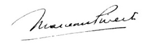 Signature de Marceau Pivert