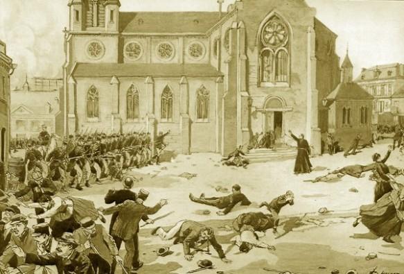 1891 La boucherie de Fourmies du 1er mai [Lafargue] | La Bataille ...