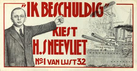 Affiche pour les élections de 1933