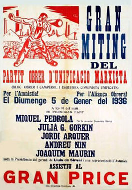 Meeting en janvier 1936