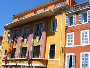 La mairie d'Aubagne