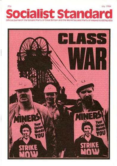Couverture du Socialist standard en juillet 1984