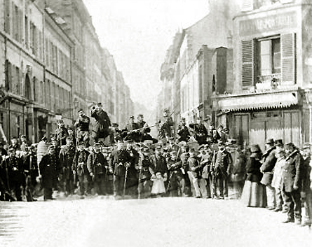 Commune-de-paris-1871-barricade-rue-saint-sebastien-paris-xieme-ar