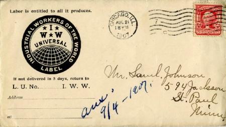 Courrier des IWW (1907)