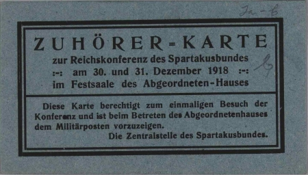 spartakusbund1918