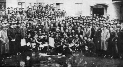 Délégués à la 1° Conférence des Comités d'usine (de Petrograd en mai-juin 1917, ou Panrusse en octobre 1917?)