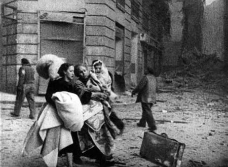 Madrid bombardée par les fascistes