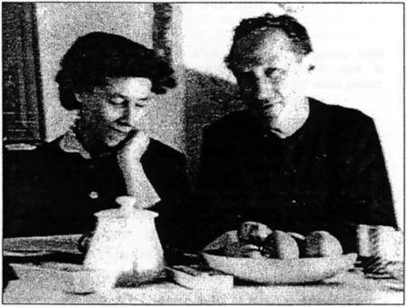 Sophie Moen avec Maximilien Rubel
