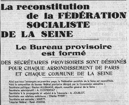 Extrait du Populaire du 16 avril 1938