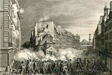 Fusillade au Faubourg Saint Antoine, le 28 avril 1789