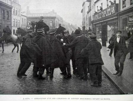 CGT - arrestation à Lens