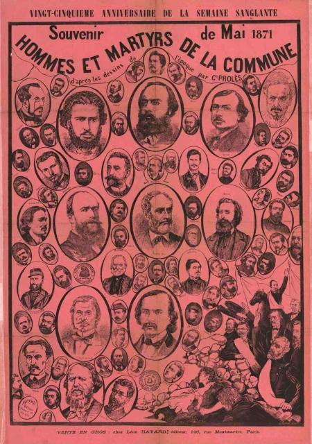 Hommes et martyrs de la Commune 1896
