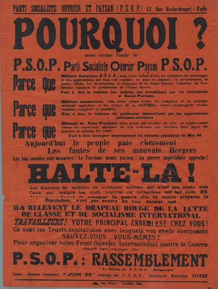 PSOP - tract Pourquoi 2