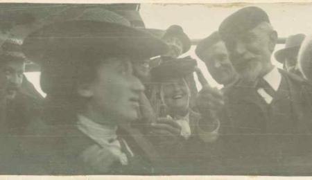 rosa avec Bebel 1904