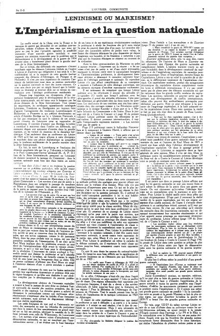 - 'L'Ouvrier communiste' N°2-3 (10-1929)-7