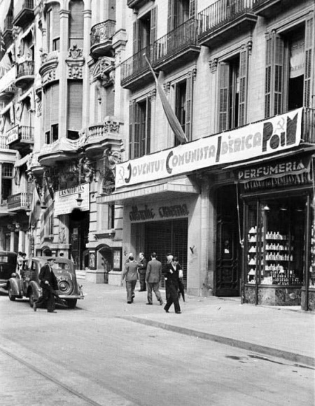 JCI-POUM - local à Barcelone 1936