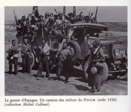 POUM (8) - camion des milices
