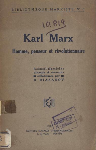 marx-riazanov
