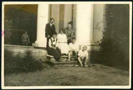 Rosmer et la famille Trotski 1921