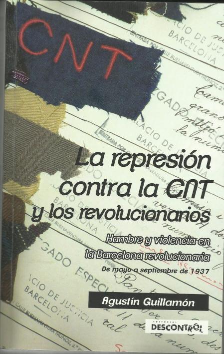 Portada La represión c. la CNT